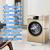ハイアの洗濯機10キロの大容量周波数変化静音省エネ全自動家庭用ローラー洗濯機G 100 818 BG金色