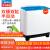 美的(MDea)10キロ大容量2バレル洗濯機半自動二筒洗濯機用洗濯機家庭用洗い分離一キー脱水H 100 VS 808
