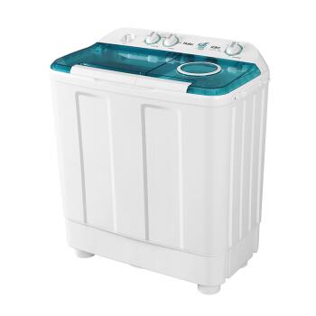 ハイアベル(Haier)12キロ半自動ダブルシリンダー洗濯機の超大容量運動バランス脱水で、薄い布団XP 120-88 Sを洗うことができます。