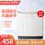 栄事達(Royalstar)は9キロの大容量のダブルバレルの半自動家庭用の波輪洗濯機9キロXP 90-966 PHRホワイトです。